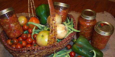 Canning: Hot Chile Salsa and Fruit Salsa tickets