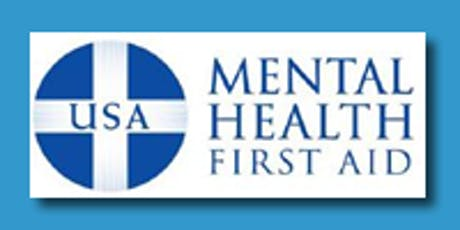FREE ADULT MENTAL HEALTH FIRST AID TRAINING - ABINGTON, PA tickets