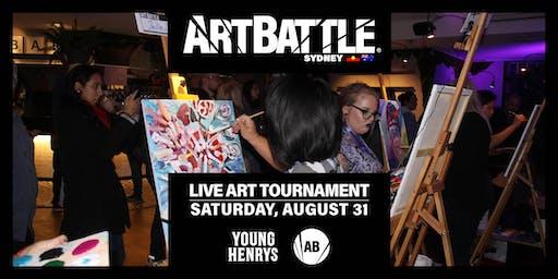 Art Battle Sydney - 31 August, 2019