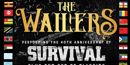 The Wailers in Concert with One Sharp Mind