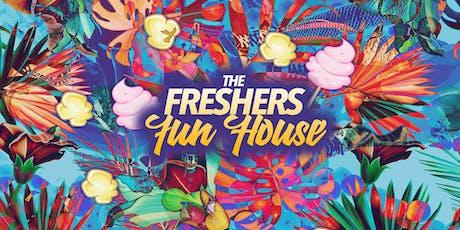 Freshers Fun House // Birmingham tickets