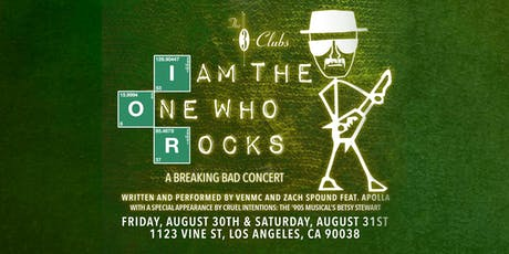 I Am The One Who Rocks- A Breaking Bad Concert tickets