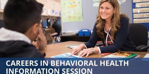 Careers in Behavioral Science Information Session