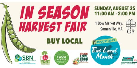 In Season Harvest Fair at Bow Market tickets