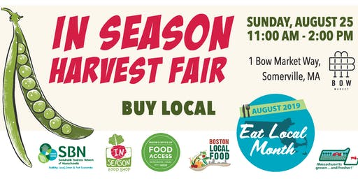 In Season Harvest Fair at Bow Market