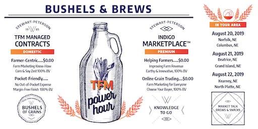 Bushels & Brews: A TFM Power Hour - Beatrice