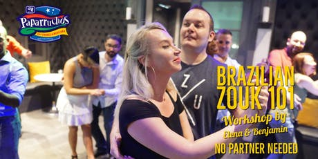 BRAZILIAN ZOUK. Crash Course for Beginners in Houston 08/24 tickets