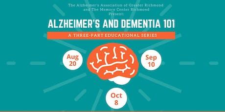 Alzheimer's and Dementia 101 tickets