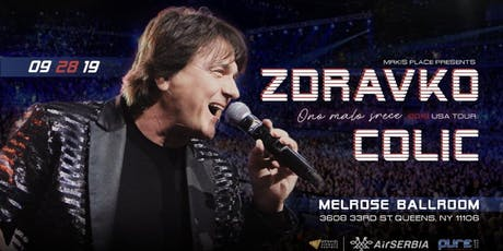 ZDRAVKO COLIC tickets