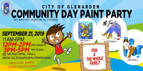 City of Glenarden Community Day Paint Party tickets