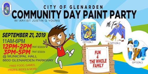 City of Glenarden Community Day Paint Party
