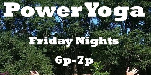 $5 Fridays Power Yoga - Sweet Dream Rescue Animal Fund