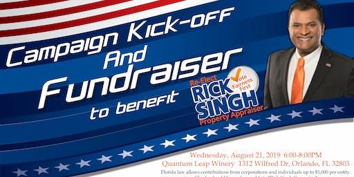 Rick Singh Campaign Kick-Off Fundraiser