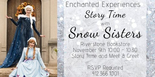 Snow Sisters come to Riverstone Books