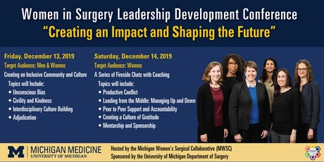 2019 Women in Surgery Leadership Development Conference tickets