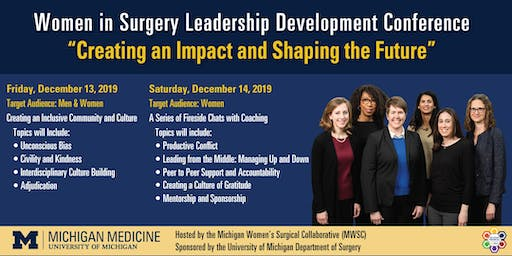 2019 Women in Surgery Leadership Development Conference