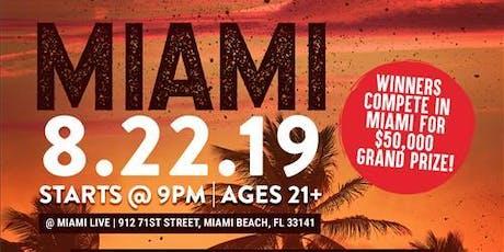 Coast 2 Coast LIVE Artist Showcase Miami, FL - $50K Grand Prize tickets