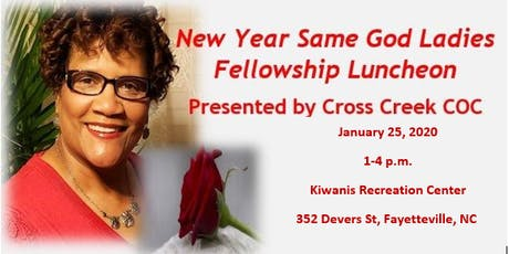 New Year Same God Annual Ladies Fellowship Luncheon 2020 tickets