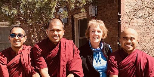 Finding Your Middle Path - Half Day Retreat with Bhante Amitha, Bhante Assaji, Bhante Bhaddiya and Nancy May