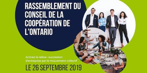 Rassemblement du Conseil de la coopération de l'Ontario 2019