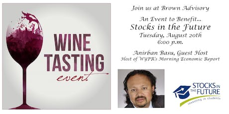 Stocks in the Future Wine Tasting with Anirban Basu tickets
