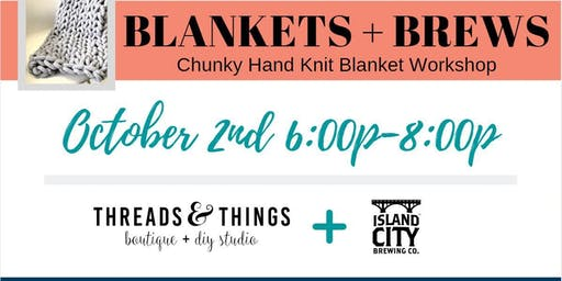 Blankets + Brews at Island City Brewing Co.