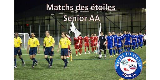Matchs des étoiles 2019:  Ligue LLL vs Concordia