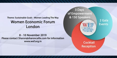"""Women Economic Forum"" High profiled International Speakers and VIP'S tickets"