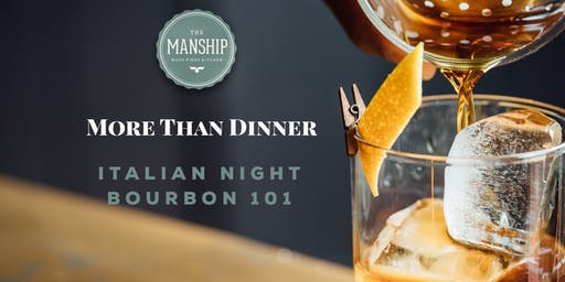 More than Dinner: Italian Night