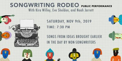 Songwriting Rodeo. Public Performance