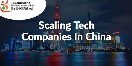 Scaling Tech Companies in China