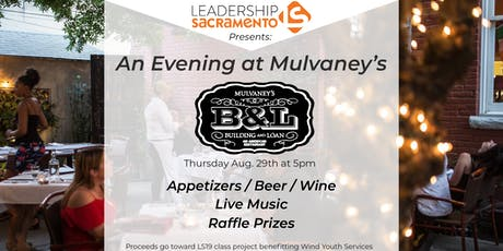 Leadership Sacramento Presents ... An Evening at Mulvaney's tickets