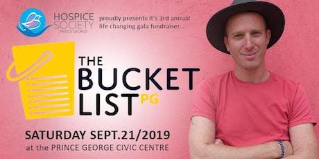 Bucket List Gala 2019 tickets