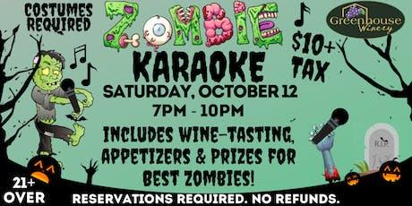 Zombie Karaoke Night tickets