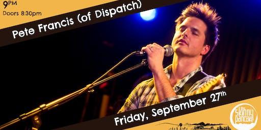Pete Francis (of Dispatch) - Burlington VT