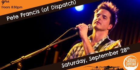 Pete Francis (of Dispatch) - Hanover NH tickets