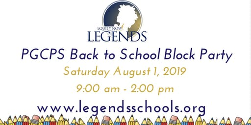 PGCPS Back To School Block Party