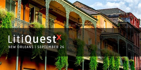 LitiQuestX New Orleans tickets