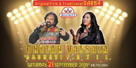 Chetan Gadhavi & Vatsala Patil Garba 2019 tickets