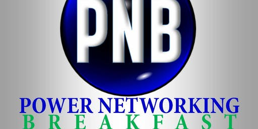Power Networking Breakfast - Wednesday, August 21, 2019