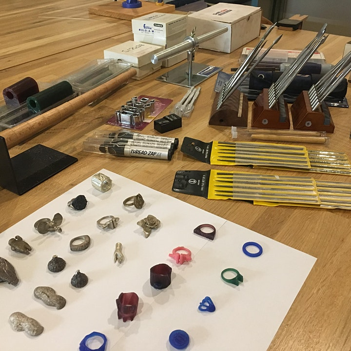 Intro to Wax Carving and Casting - Jewelry Workshop image