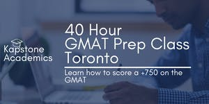 Kapstone Academics: 40 Hour GMAT Prep 4 Weeks on...