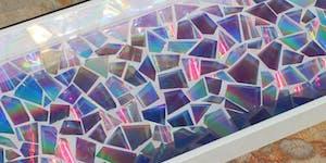 Pinterested: DVD Mosaic Art