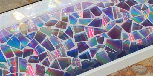 Pinterested: DVD Mosaic Art
