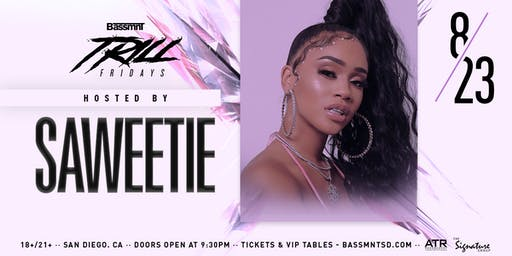Saweetie at Bassmnt Friday 8/23
