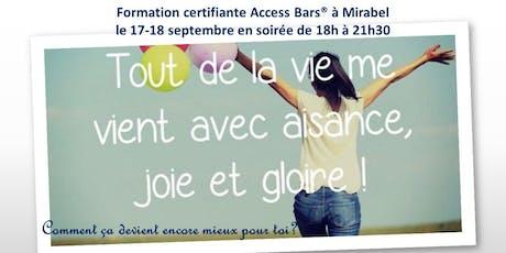 Classe certifiante Access Bars des Laurentides en soirées billets