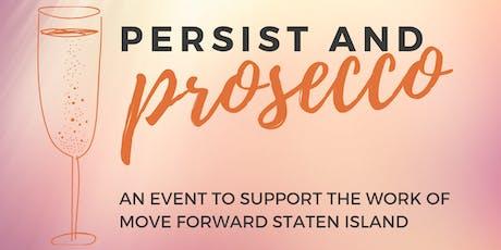 Persist & Prosecco tickets