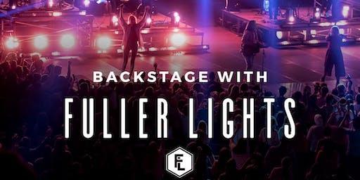 Backstage with Fuller Lights
