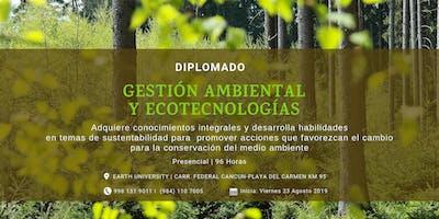 Diplomado en Gestión Ambiental y Ecotecnologías