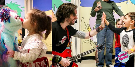 Rock It! Rocket FREE MUSIC CLASS (0-6 years)